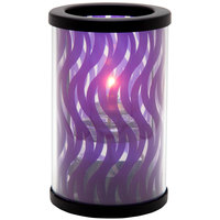 Sterno Products 80454 Muse 5 inch Swirl Purple Lamp