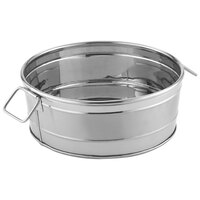 American Metalcraft STUB93 9 1/8 inch x 3 1/8 inch Round Stainless Steel Metal Tub