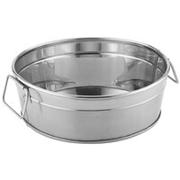 American Metalcraft STUB83 8 1/8 inch x 3 1/8 inch Round Stainless Steel Metal Tub