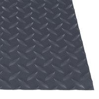 Cactus Mat 1054R-E475 Cushion Diamond-Dekplate 4' x 75' Gray Anti-Fatigue Mat Roll - 9/16 inch Thick