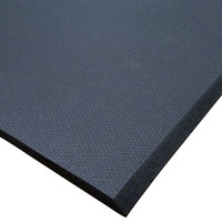 Cactus Mat 2200R-C2 Cloud-Runner 2' x 75' Black Grease-Proof Rubber Runner Mat Roll - 3/4 inch Thick