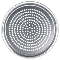 American Metalcraft SPHATP12 12 inch Super Perforated Heavy Weight Aluminum Wide Rim Pizza Pan