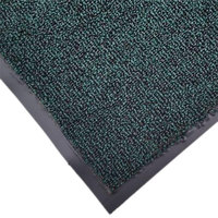 Cactus Mat 1471M-G34 3' x 4' Green Olefin Carpet Entrance Floor Mat - 3/8 inch Thick
