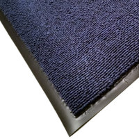 Cactus Mat 1469M-U46 4' x 6' Blue Foyer Scraper Mat - 3/8 inch Thick