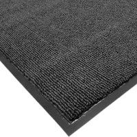 Cactus Mat Roll 1471R-L3 3' x 60' Charcoal Carpet Entrance Floor Mat Roll - 3/8 inch Thick