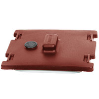Cambro 6316402 Brick Red Camtainer Lid with Vent and Gasket