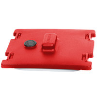 Cambro 6316158 Hot Red Camtainer Lid with Vent and Gasket