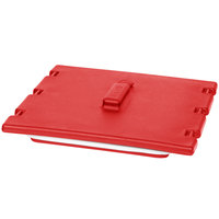 Cambro 6323158 Hot Red Camtainer Lid with Vent and Gasket