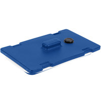 Cambro 6322186 Navy Blue Camtainer Lid with Vent and Gasket