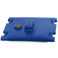Cambro 6316186 Navy Blue Camtainer Lid with Vent and Gasket