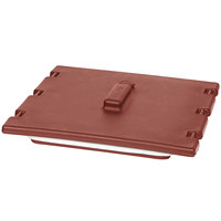 Cambro 6323402 Brick Red Camtainer Lid with Vent and Gasket