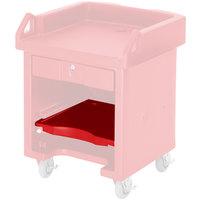 Cambro C10009158 Hot Red Versa Cart Shelf