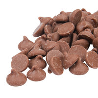 Ghirardelli 10 lb. Milk Chocolate .5M Baking Chips