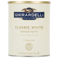 Ghirardelli 3.12 lb. White Chocolate Frappe Mix