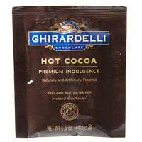 Ghirardelli Premium Double Chocolate Hot Cocoa Mix Packets - 15/Box