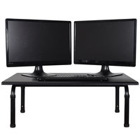 Luxor / H. Wilson STAND-SD32 Adjustable Stand Up Desktop Desk - 32 inch