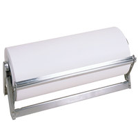 Bulman A503-12 Standard 12 inch Stainless Steel All-In-One Paper Dispenser / Cutter with Serrated Blade