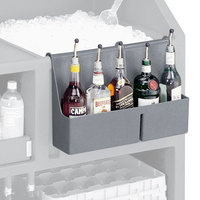 Cambro BAR54SR191 Granite Gray 5-Bottle CamBar Speed Rail
