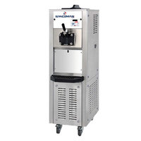 Spaceman 6338AH Soft Serve Ice Cream Machine with Air Pump and 1 Hopper - 208/230V