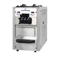 Spaceman 6245AH Soft Serve Ice Cream Machine with Air Pump and 2 Hoppers - 208/230V