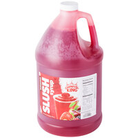 Carnival King 1 Gallon Fruit Punch Slushy Syrup - 4/Case