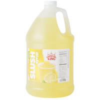 Carnival King 1 Gallon Lemon Slushy Syrup - 4/Case