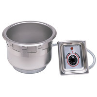 APW Wyott SM-50-7D UL HP High Performance / Fast Recovery Drop In 7 Qt. Soup Well with EZ Lock and Drain - 120V