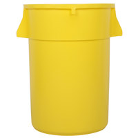 44 Gallon Yellow Trash Can