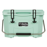 20 Qt. Seafoam Green Extreme Outdoor Grizzly Merchandiser / Cooler