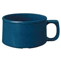 GET BF-080-TB 11 oz. Texas Blue Melamine Mug - 24/Case