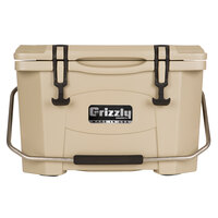 20 Qt. Tan Extreme Outdoor Grizzly Merchandiser / Cooler