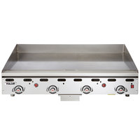 Vulcan 948RX-30 Liquid Propane 48 inch Griddle with Snap-Action Thermostatic Controls and Extra Deep Plate - 108,000 BTU