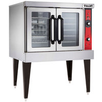 Vulcan VC4EC-240/3 Single Deck Full Size Electric Convection Oven with Computer Controls - 240V, 3 Phase, 12.5 kW