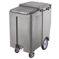 Cambro ICS200TB180 Light Gray Sliding Lid Portable Ice Bin - 200 lb. Capacity Tall Model