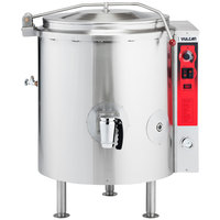 Vulcan K40GL-LP Liquid Propane 40 Gallon Stationary 2/3 Steam Jacketed Kettle - 100,000 BTU