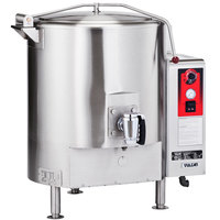 Vulcan GT125E-LP Liquid Propane 125 Gallon Stationary Steam Jacketed Gas Kettle - 135,000 BTU