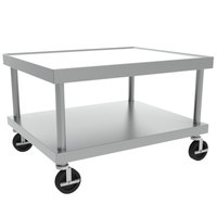 Vulcan STAND/C-HD42 30 inch x 42 inch Mobile Stainless Steel Equipment Stand