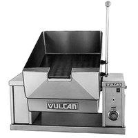 Vulcan VECTS12-208/1 12 Gallon Manual Tilt Braising Pan / Tilt Skillet - 208V, 1 Phase, 9 kW