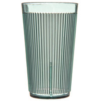 Carlisle 403309 Crystalon Green RimGlow Polycarbonate Tumbler 12 oz. - 48/Case