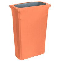 Marko EMB5026TLC23030 Embrace Trimline 23 Gallon Peach Spandex Narrow Profile Waste Container Cover