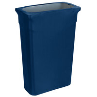 Marko EMB5026TLC23062 Embrace Trimline 23 Gallon Cadet Blue Spandex Narrow Profile Waste Container Cover