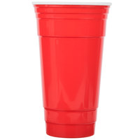 GET SC-32-R To-Go 32 oz. Customizable Red Reusable Plastic Tumbler - 24/Case