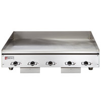 Wolf WEG60E-240/3 60 inch Electric Countertop Griddle with Thermostatic Controls - 240V, 3 Phase, 27 kW