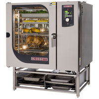Blodgett BLCM-102G Natural Gas Boilerless Combi Oven with Dial Controls - 95,500 BTU