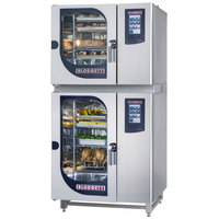 Blodgett BLCT-61-101G Liquid Propane Double Boilerless Combi Oven with Touchscreen Controls - 58,000 / 87,000 BTU