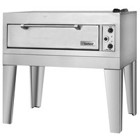 Garland E2111 55 1/2 inch Triple Deck Electric Pizza Oven - 208V, 1 Phase, 18.6 kW