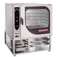 Blodgett BCX-14G-LP Liquid Propane Single Full Size Combi Oven with Manual Controls - 115,000 BTU