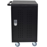 Luxor / H. Wilson LLTM30-B-KP 30 Tablet / Laptop Charging Station and Storage Cart