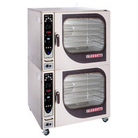 Blodgett BCX-14G-LP Liquid Propane Double Full Size Combi Oven with Manual Controls - 230,000 BTU