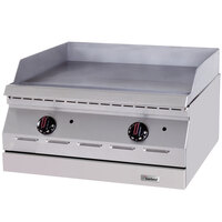 Garland ED-36G Designer Series 36 inch Electric Countertop Griddle - 208V, 3 Phase, 10.1 kW